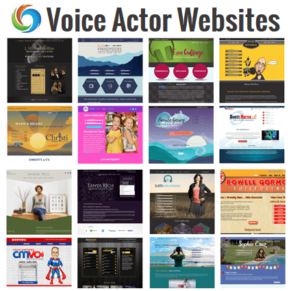 Voice Over Portfolio Websites