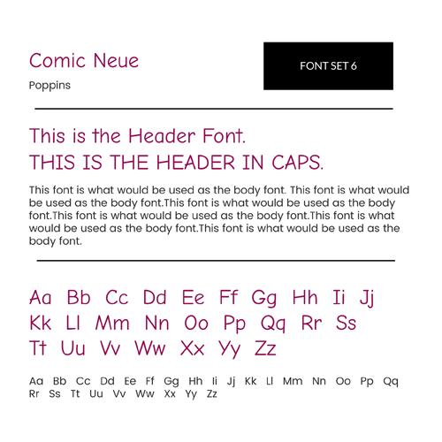 Font Set 6