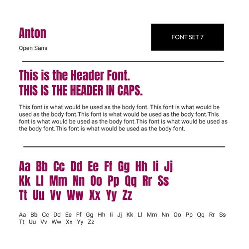 Font Set 7